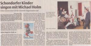 Schondorfer Kinder singen mit Michael Holm